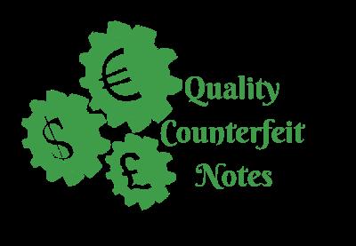 Notas falsificadas de calidad